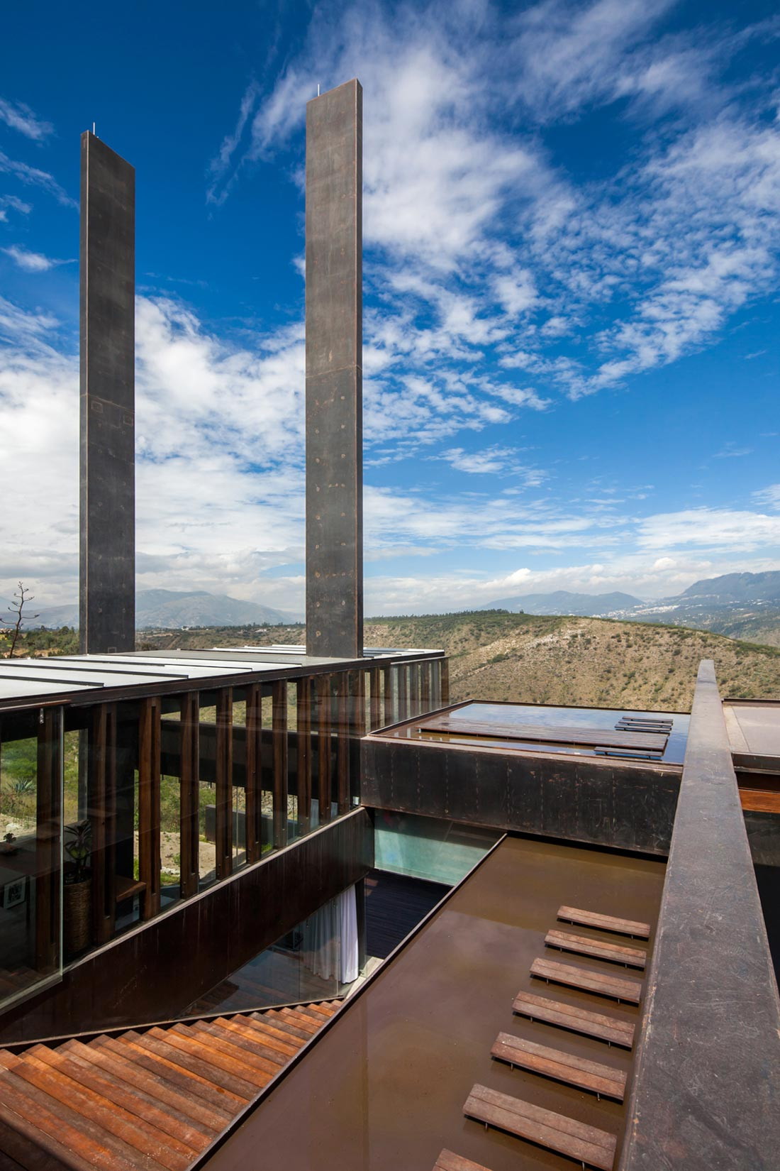 Roof Views, Mountain Home with Incredible Views in Ecuador