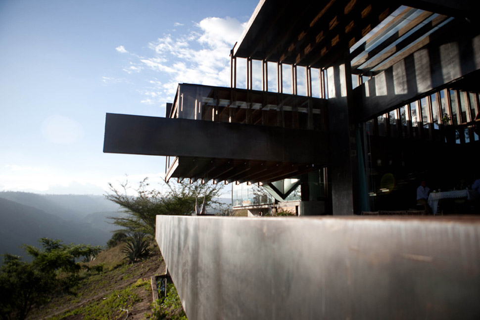 Terrace, Mountain Home with Incredible Views in Ecuador