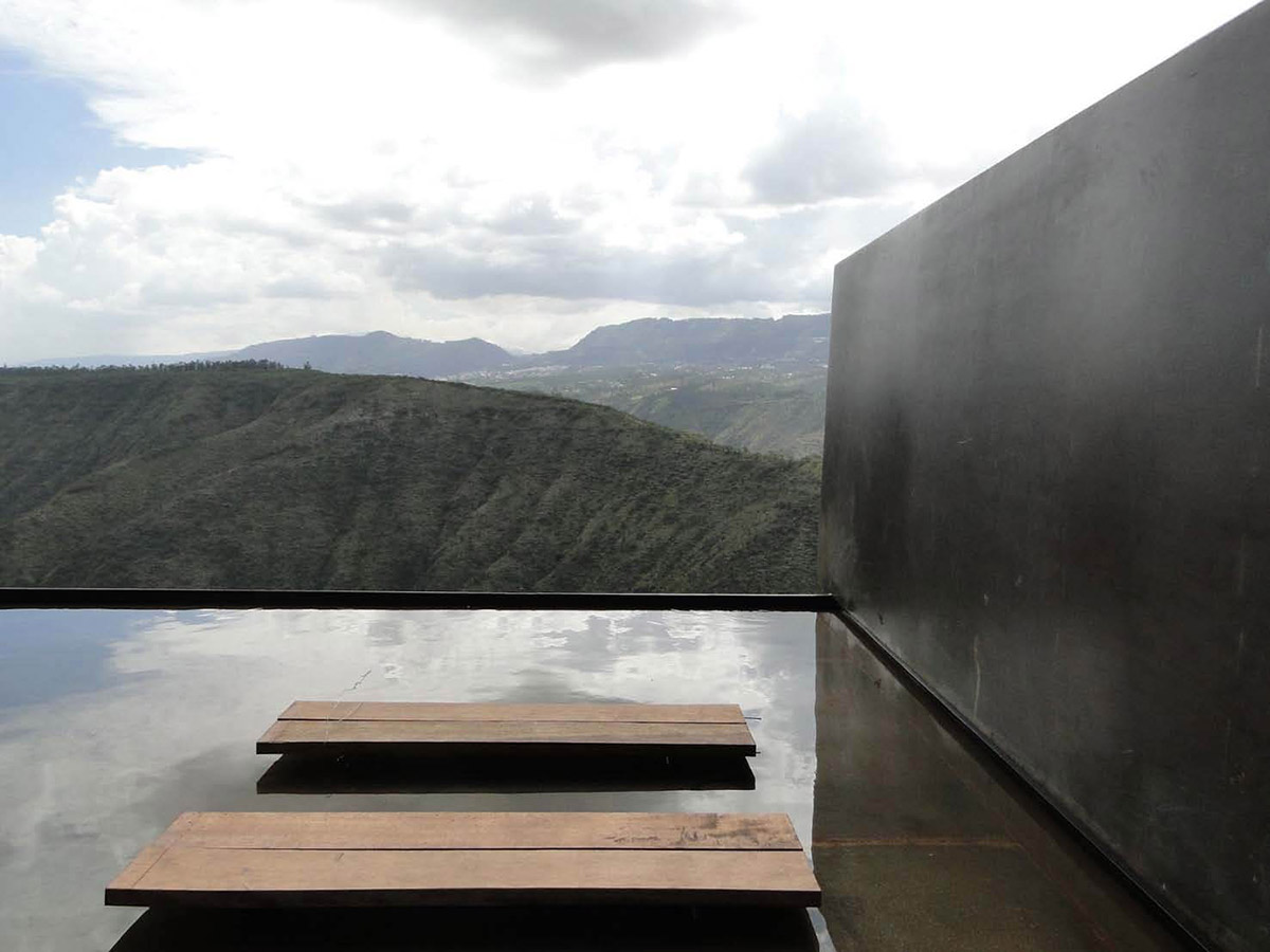 Water Feature, Mountain Home with Incredible Views in Ecuador