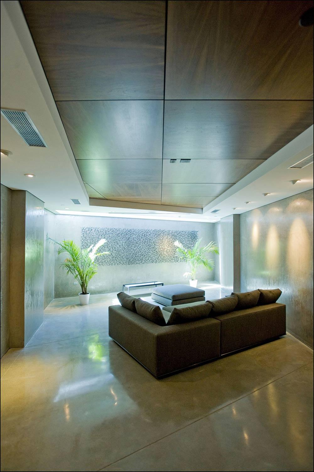 Living Space, Exquisite Ocean Front Residence in La Jolla, California
