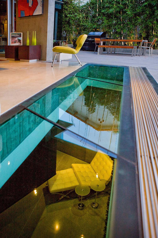 Outdoor Living, Glass Floor, Exquisite Ocean Front Residence in La Jolla, California