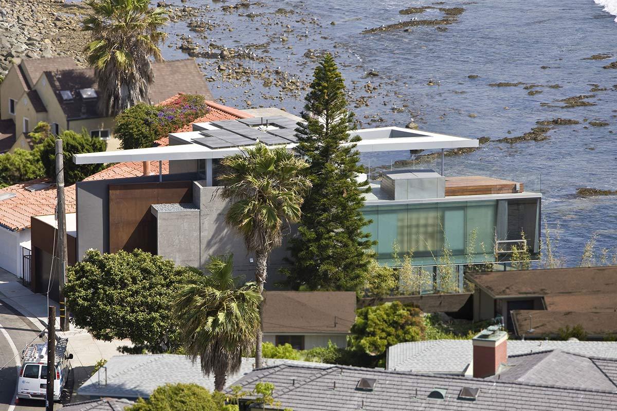 Street View, Exquisite Ocean Front Residence in La Jolla, California