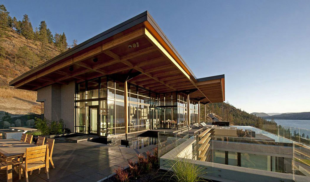 Exceptional Hillside Home Overlooking Okanagan Lake Canada