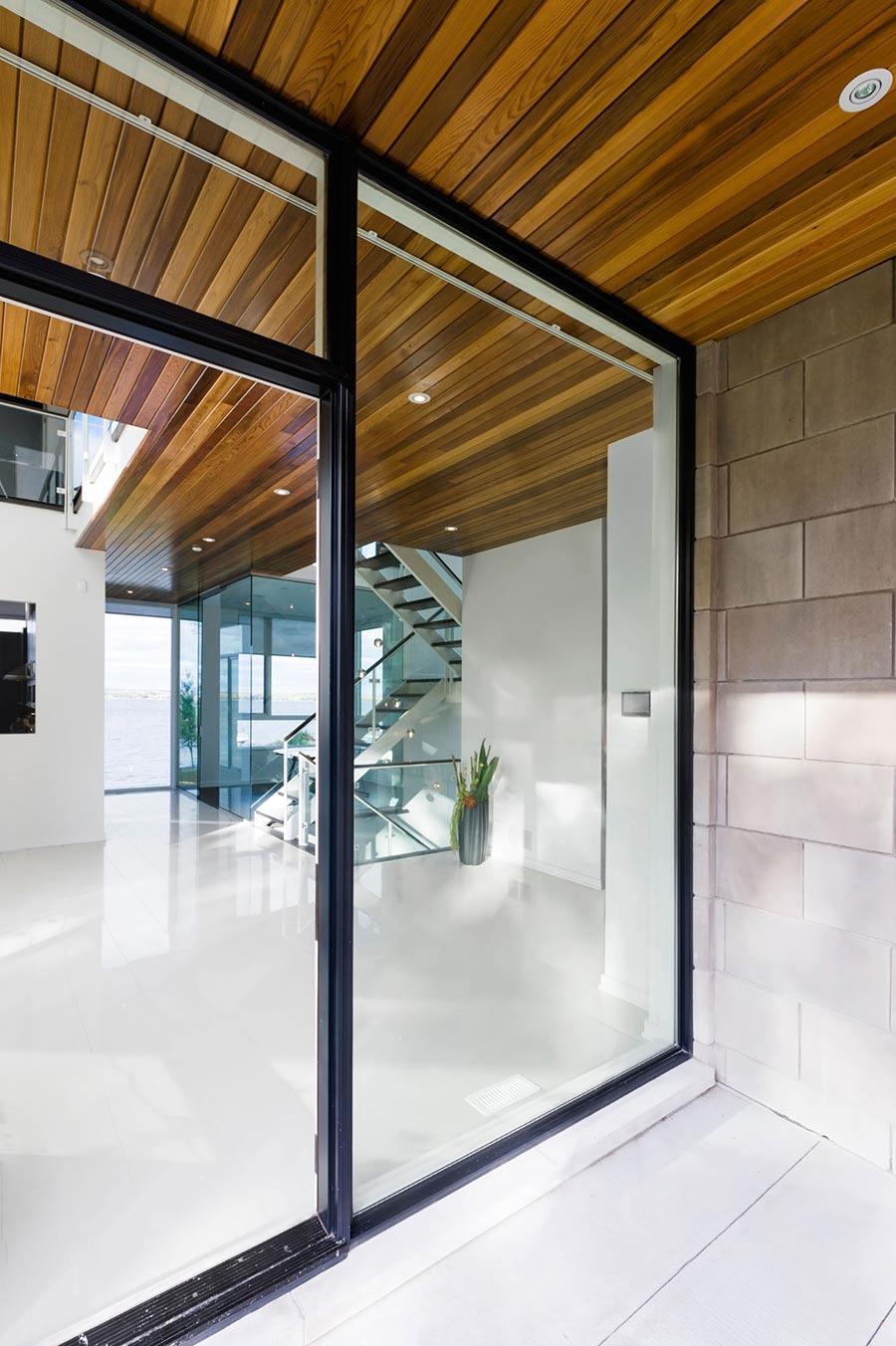 Entrance, Riverside Home in Ottawa, Canada