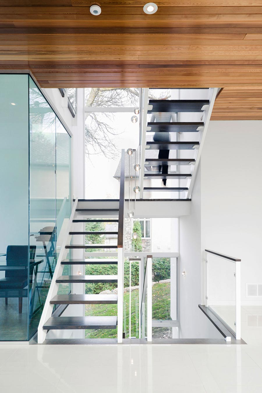 Stairs, Riverside Home in Ottawa, Canada