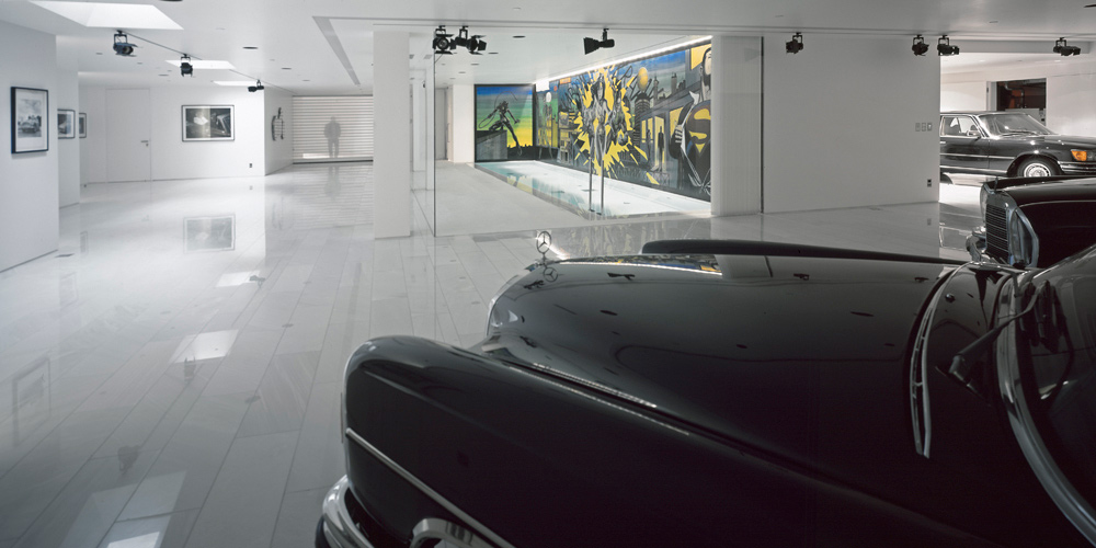 Garage, Psychiko House, Athens by Divercity Architects