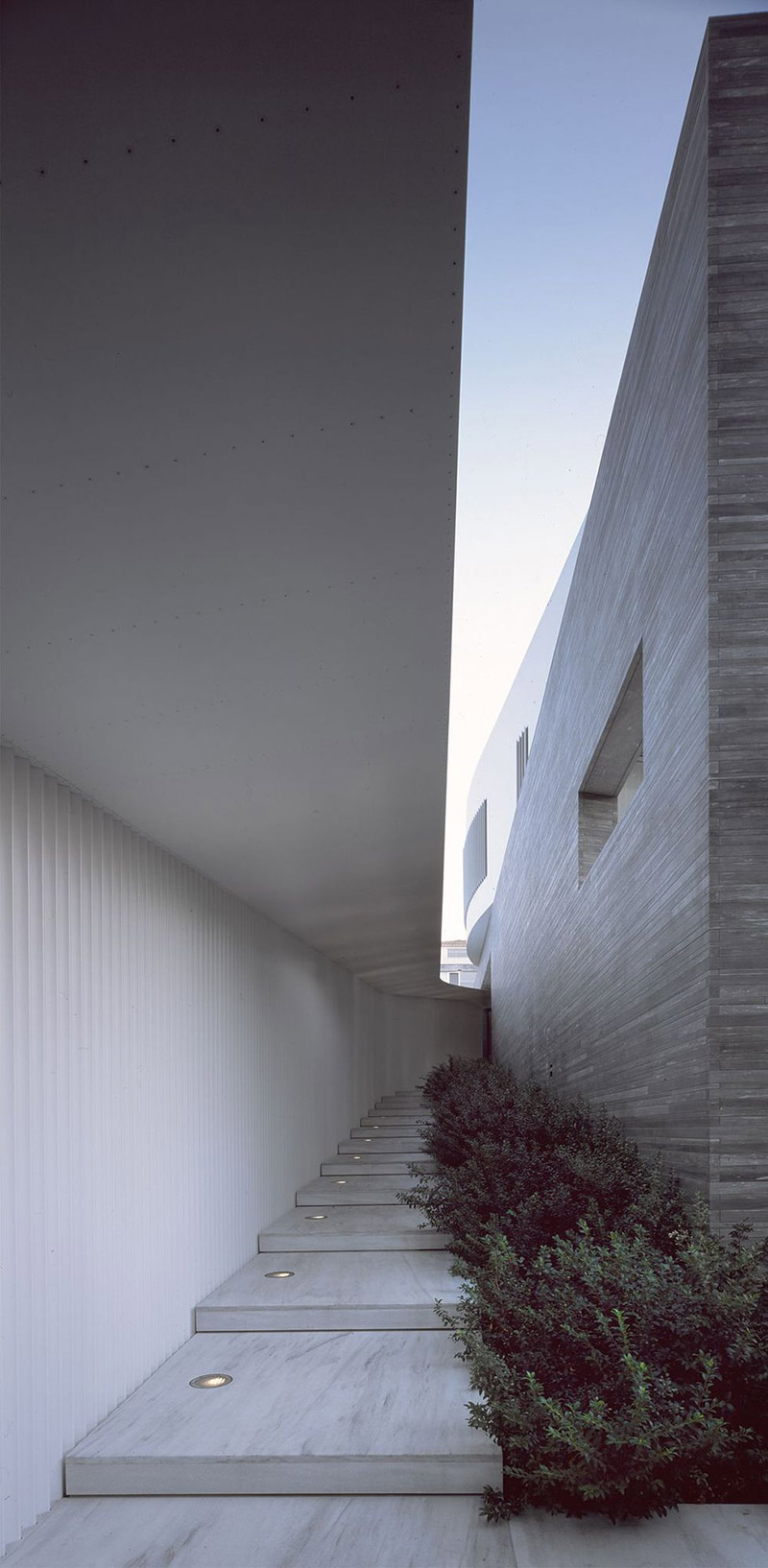 Marble Stairs, Psychiko House, Athens by Divercity Architects