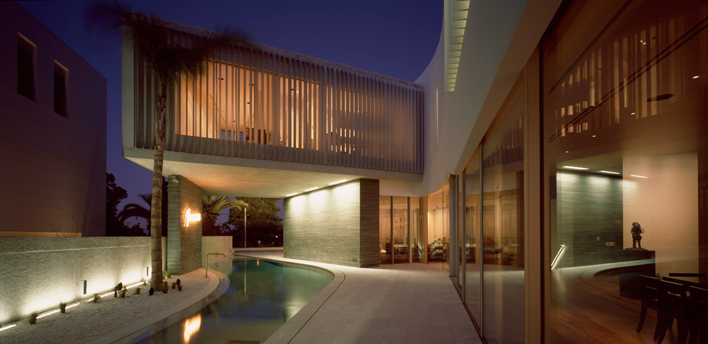Outdoor Pool, Terrace, Psychiko House, Athens by Divercity Architects