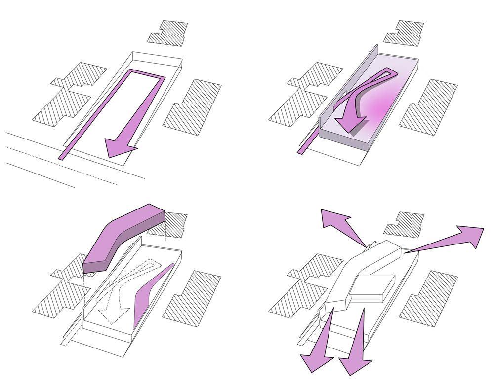 Plan, Psychiko House, Athens by Divercity Architects