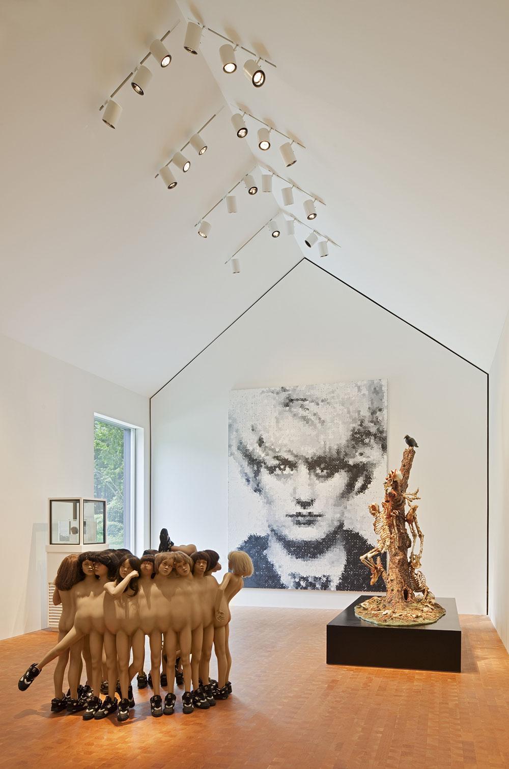 Art Gallery, Robert C. Wiley House Originally Designed by Philip Johnson