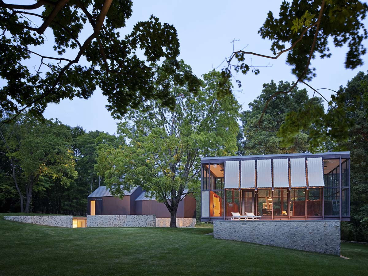 Glass House, Robert C. Wiley House Originally Designed by Philip Johnson