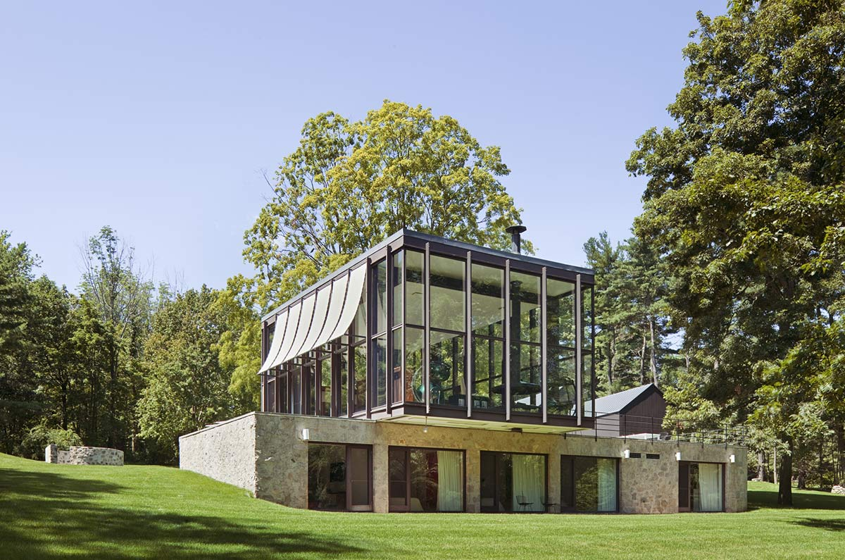 Robert C. Wiley House Originally Designed by Philip Johnson