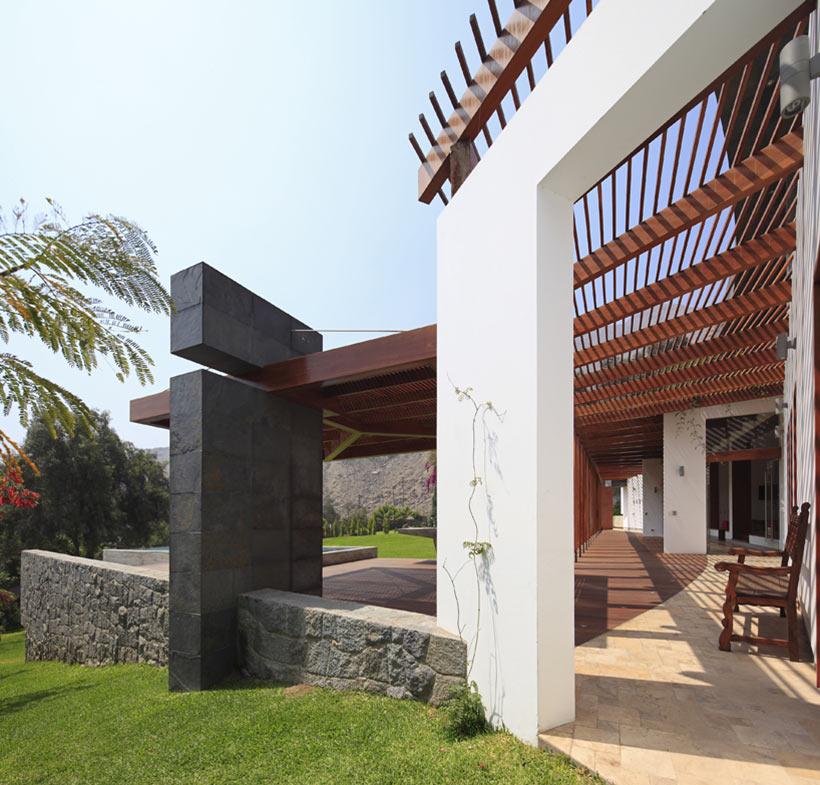 Architecture, Summer Home in Lima, Peru