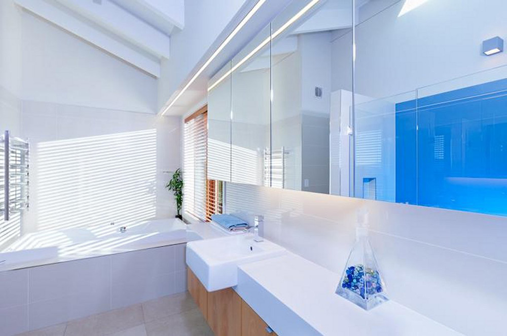 Bathroom, Elegant Contemporary Home in Te Horo, New Zealand