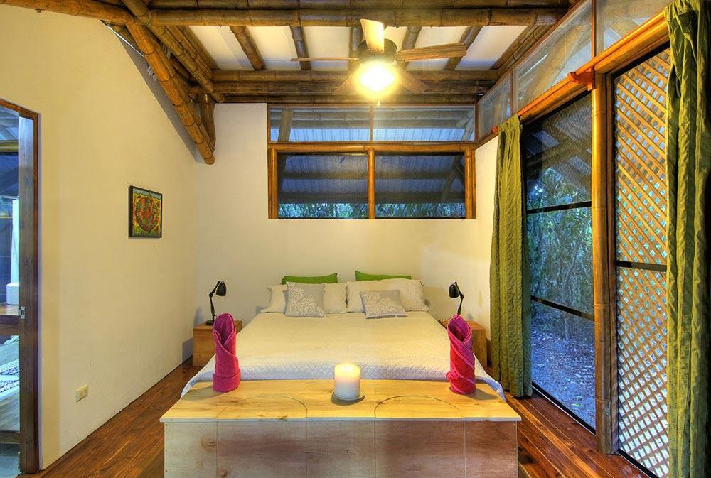 Bedroom, Unique Beachfront Vacation Home in Costa Rica
