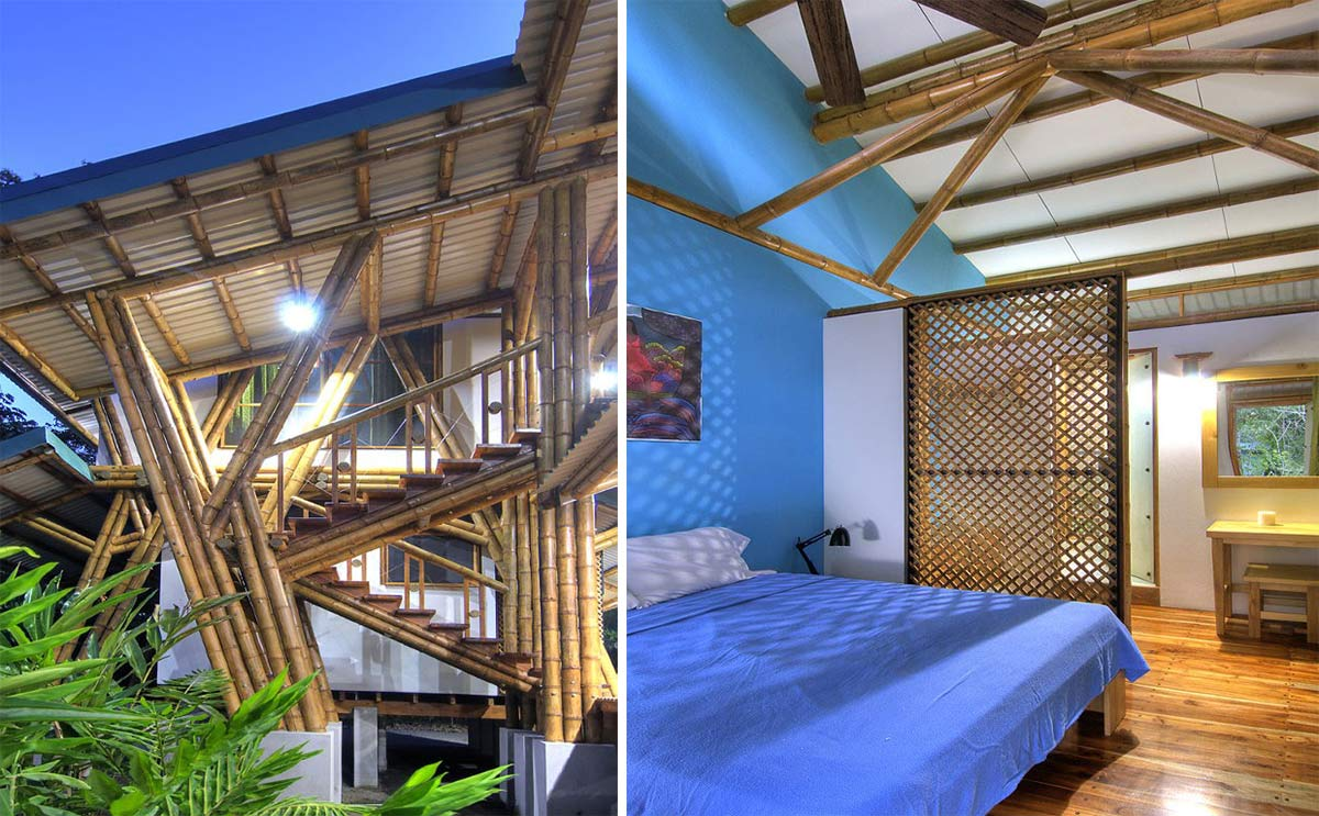 Bamboo Structure Bedroom Unique Beachfront Vacation Home