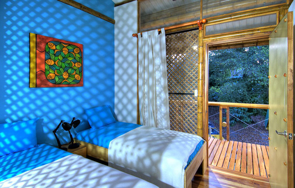 Bedroom, Unique Beachfront Vacation Home in Costa Rica