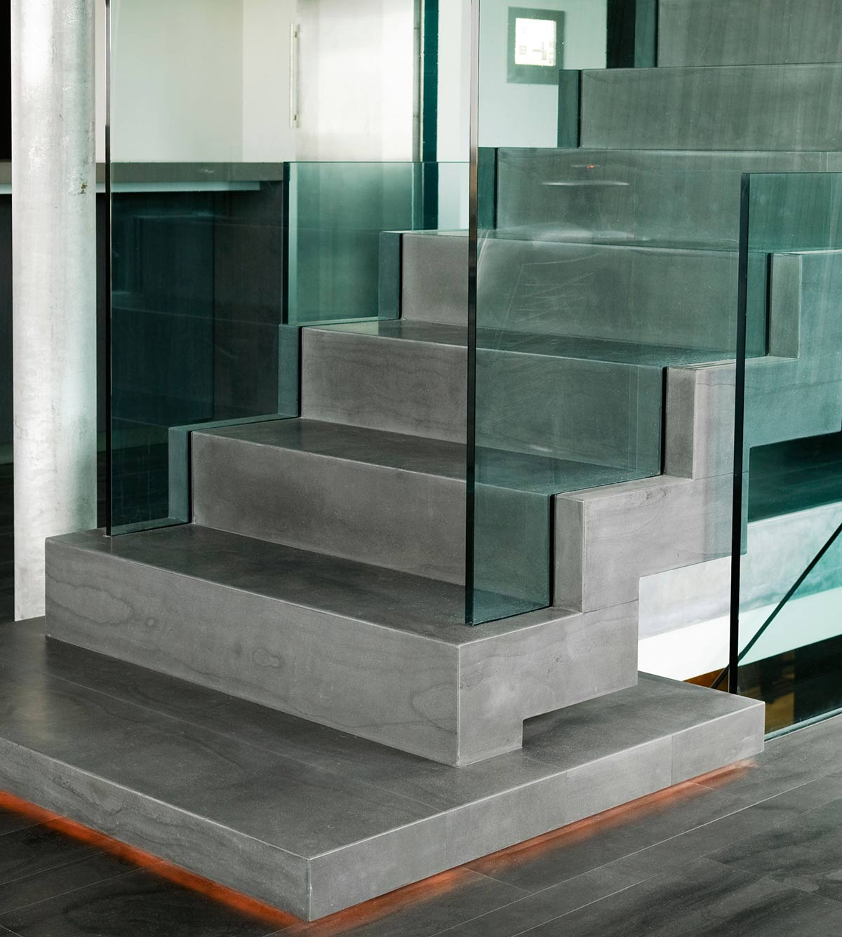 Stairs, Vacation Home in Iceland Inspired by Nature