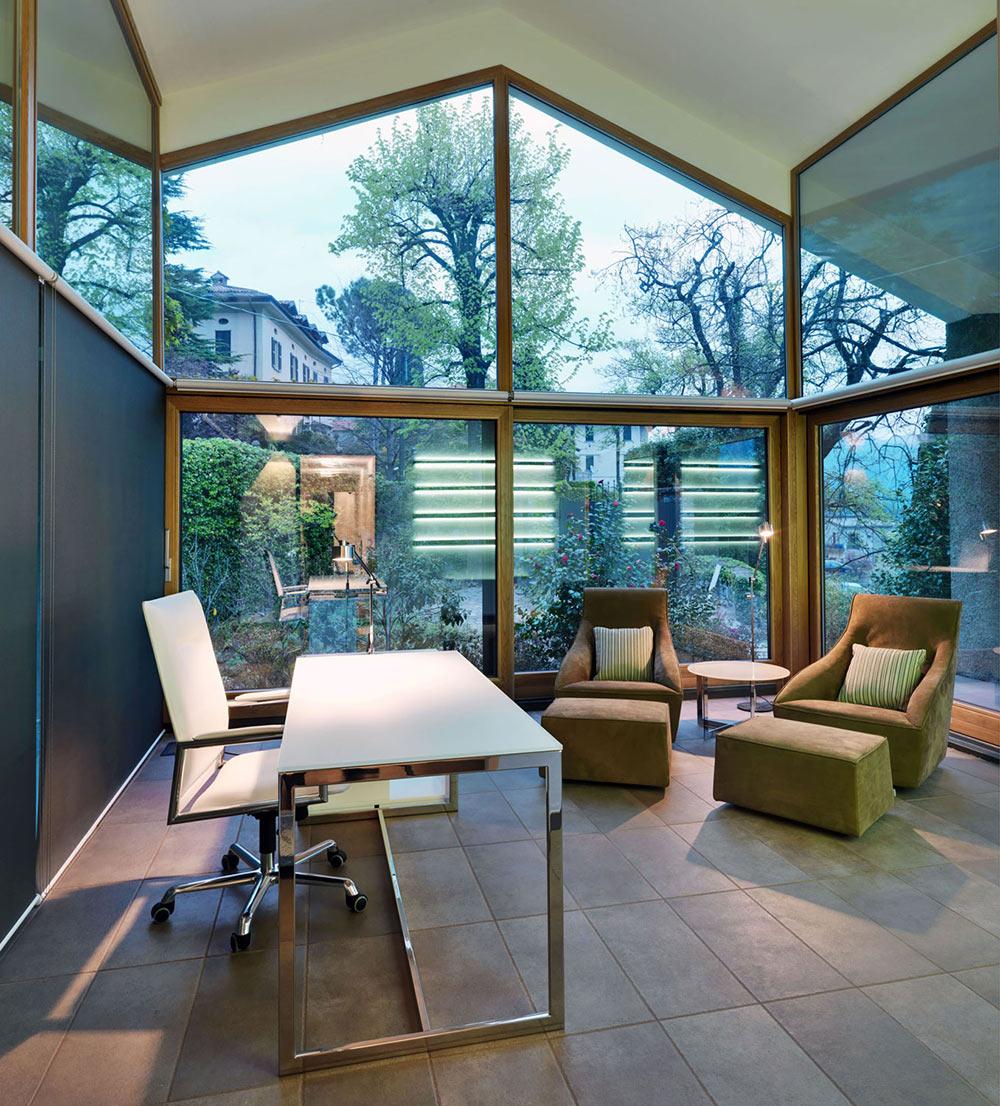 Home Office, Villa on Lake Como by Studio Marco Piva