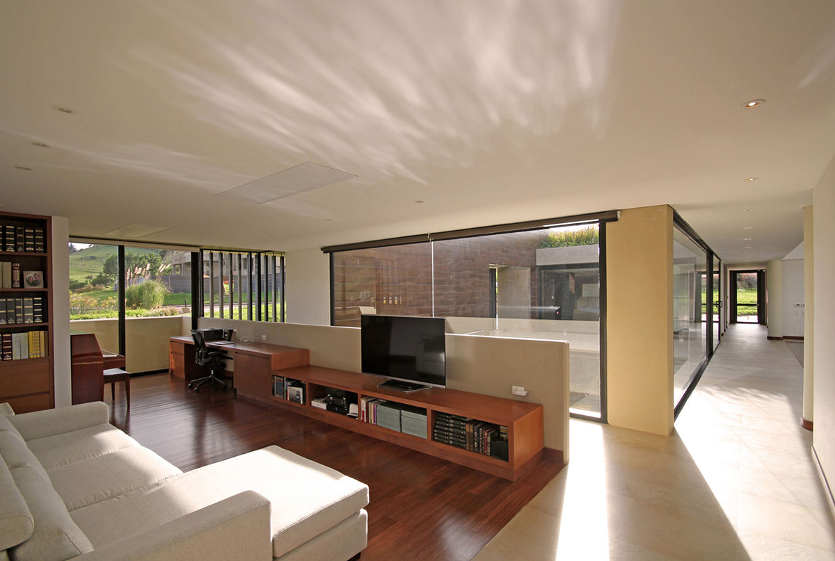 Living Space, AR House in La Calera, Colombia