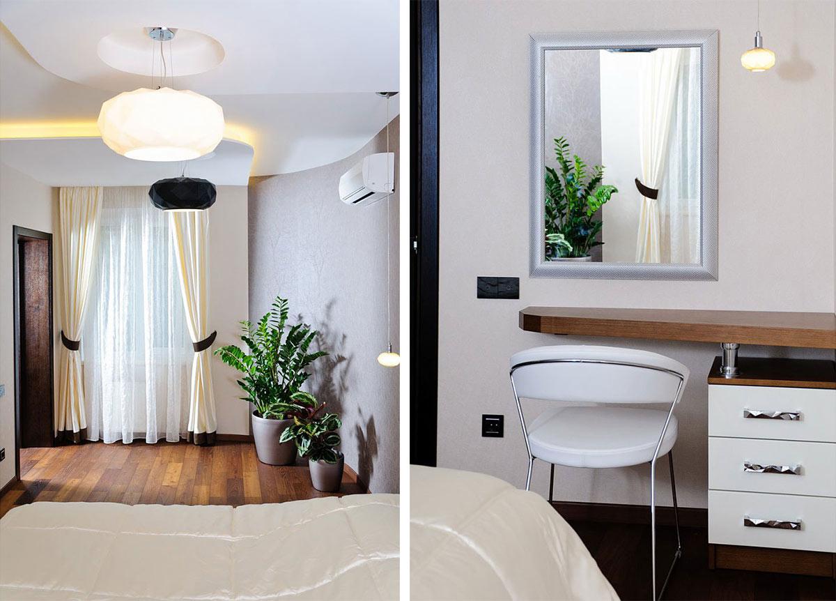 Bedroom, Apartment Renovation in Odessa, Ukraine
