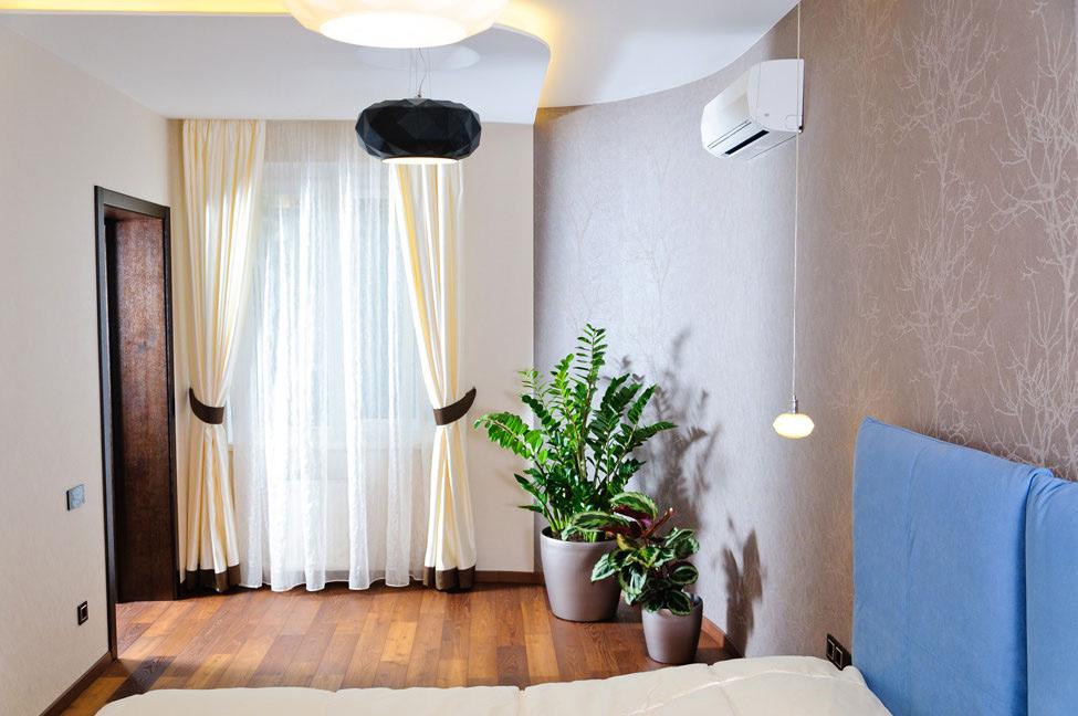 Bedroom, Wood Flooring, Apartment Renovation in Odessa, Ukraine