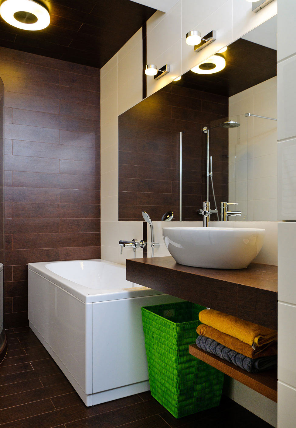 Modern Bathroom, Apartment Renovation in Odessa, Ukraine