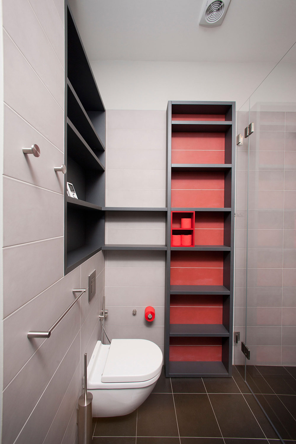 Bathroom, Studio Apartment in Riga by Eric Carlson