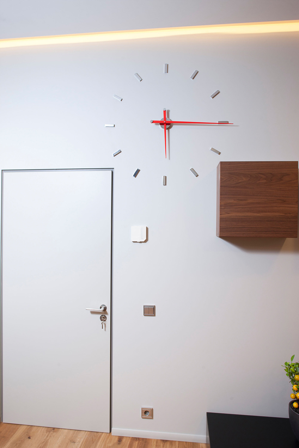 Wall Clock, Studio Apartment in Riga by Eric Carlson