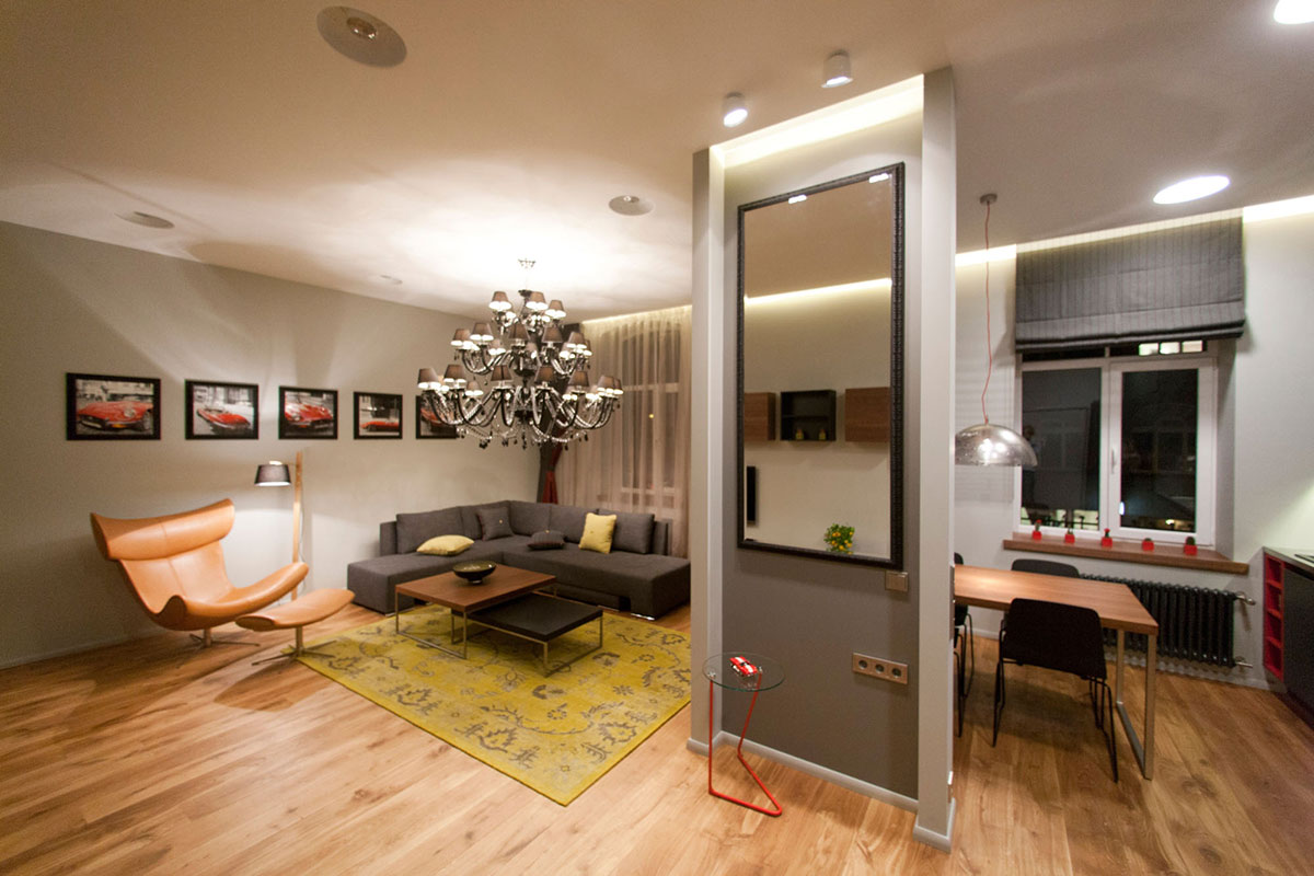 Studio apartment in riga latvia by eric carlson Studio apartment design