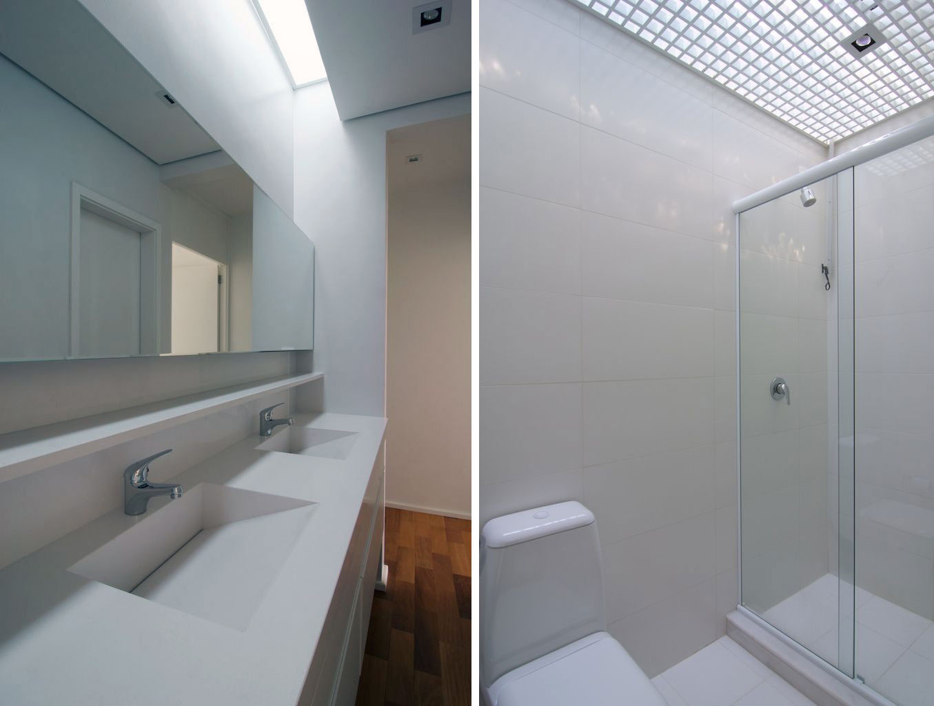 Bathroom, Modern Bungalow in Bento Gonçalves, Brazil