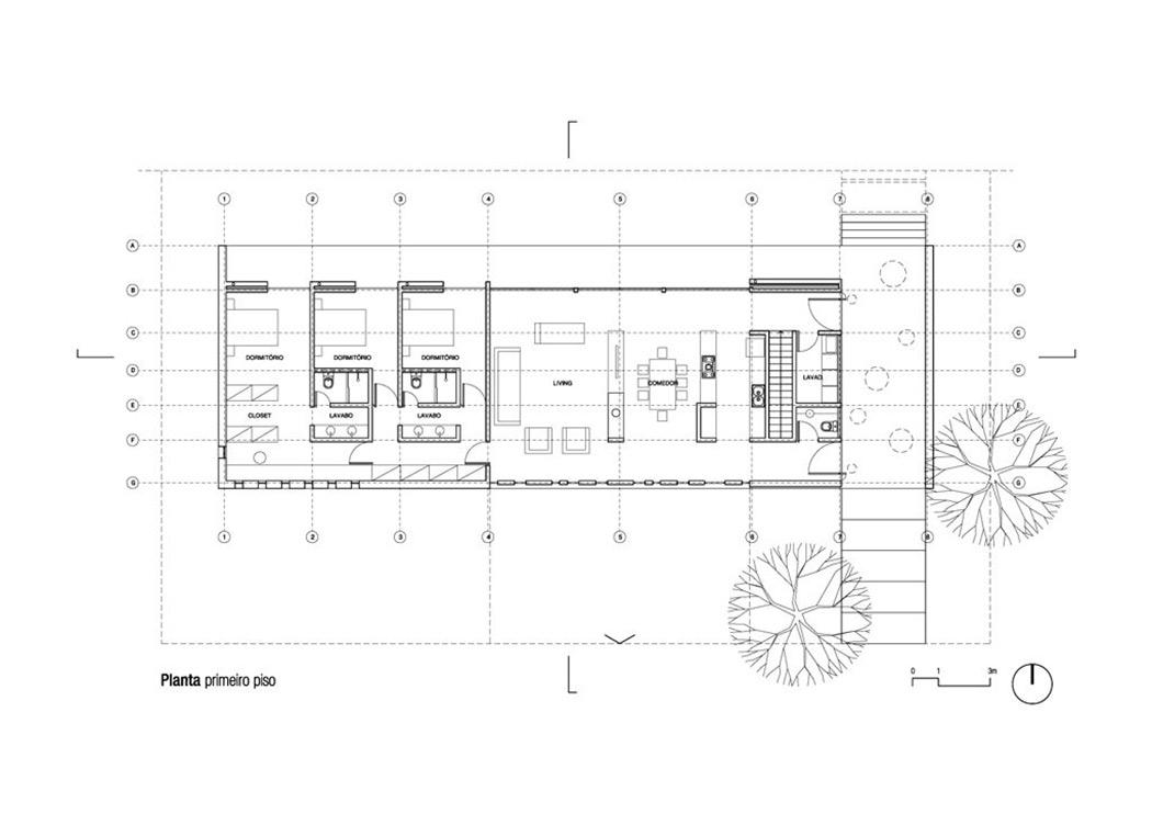 modern bungalow in bento gon alves brazil. Black Bedroom Furniture Sets. Home Design Ideas