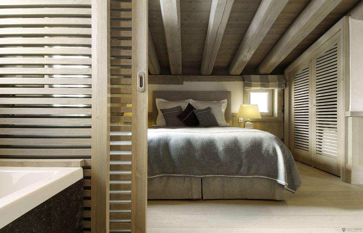 Bedroom, Chalet Black Pearl in Val d'Isère