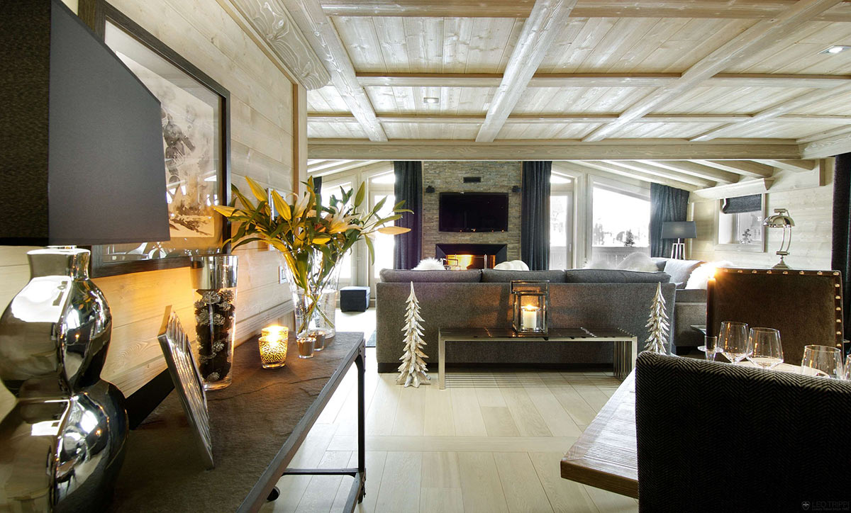 Chalet black pearl in val d 39 is re france for Design hotel vals