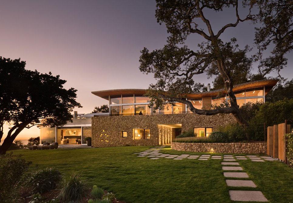 Exquisite Coastlands House in Big Sur, California