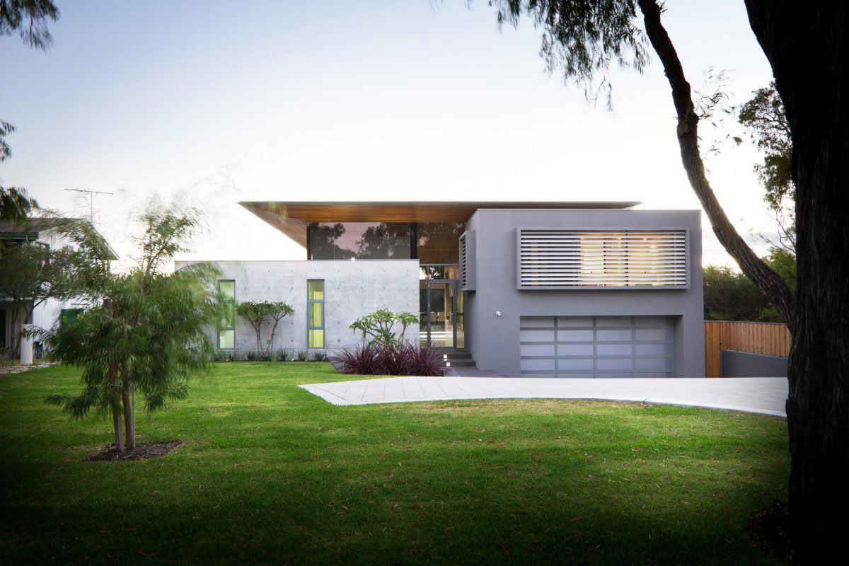 Entrance Garage, The 24 House in Dunsborough, Australia