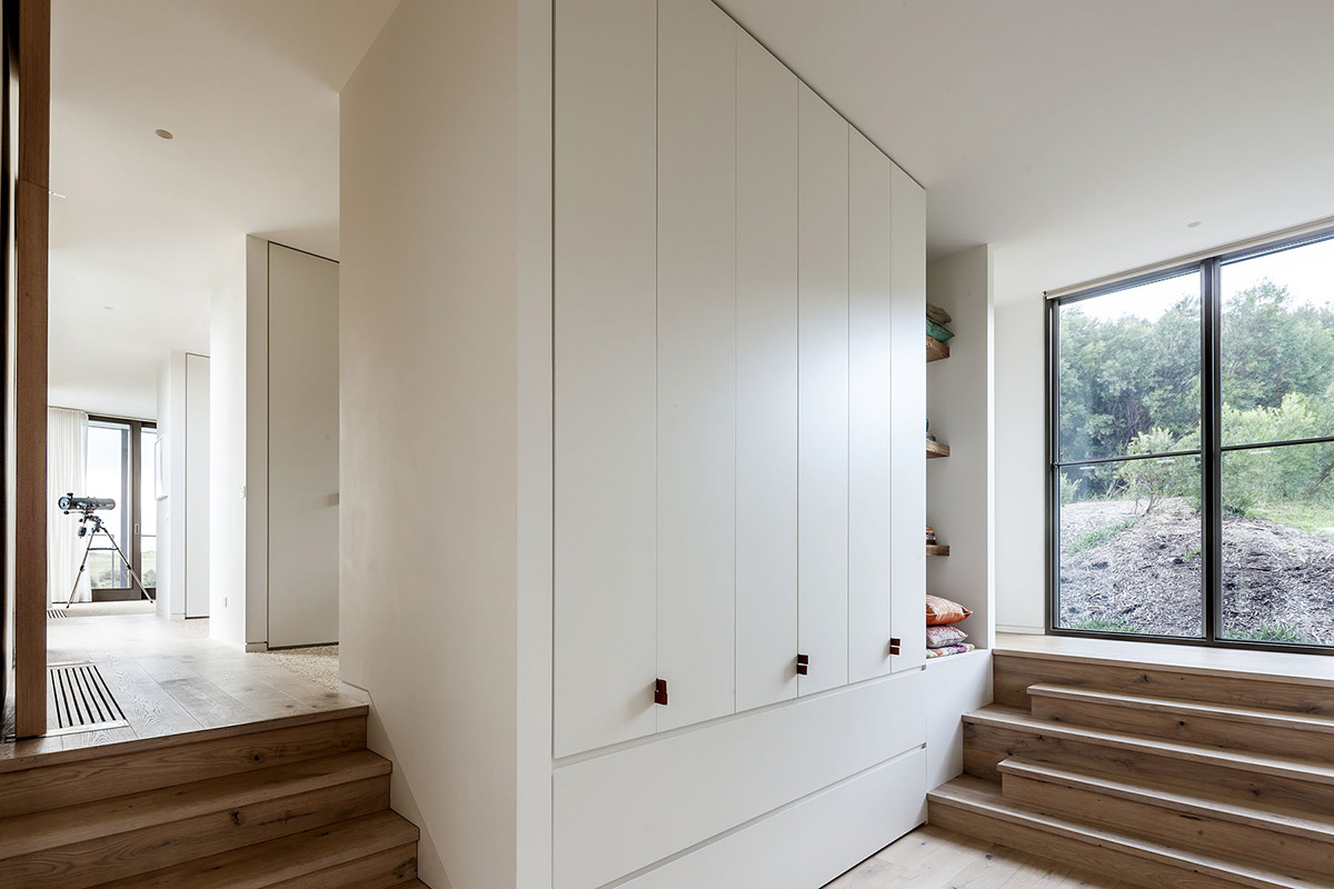 Cupboards, Foam Road Fingal Residence by Jam Architecture