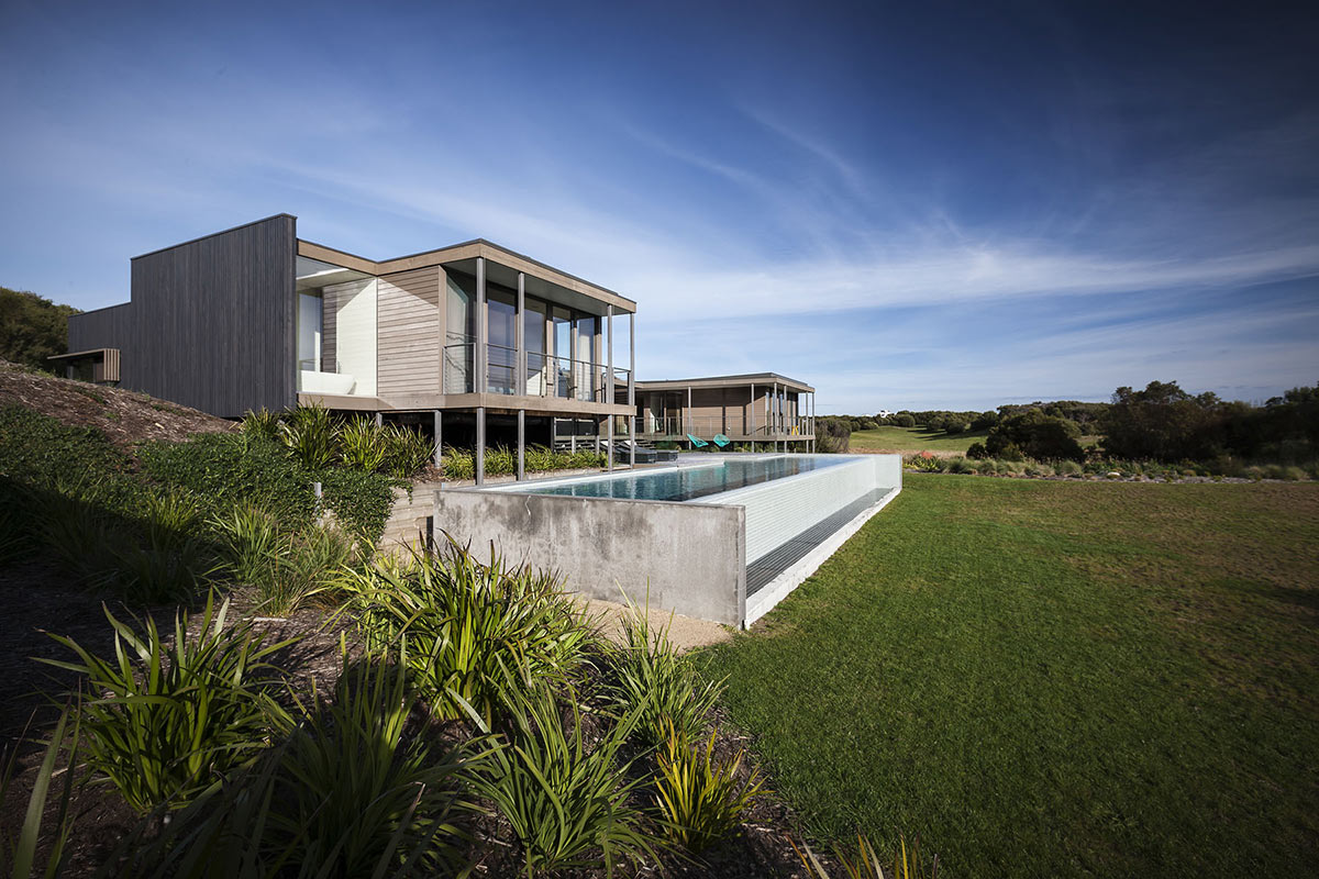 Infinity Pool, Foam Road Fingal Residence by Jam Architecture