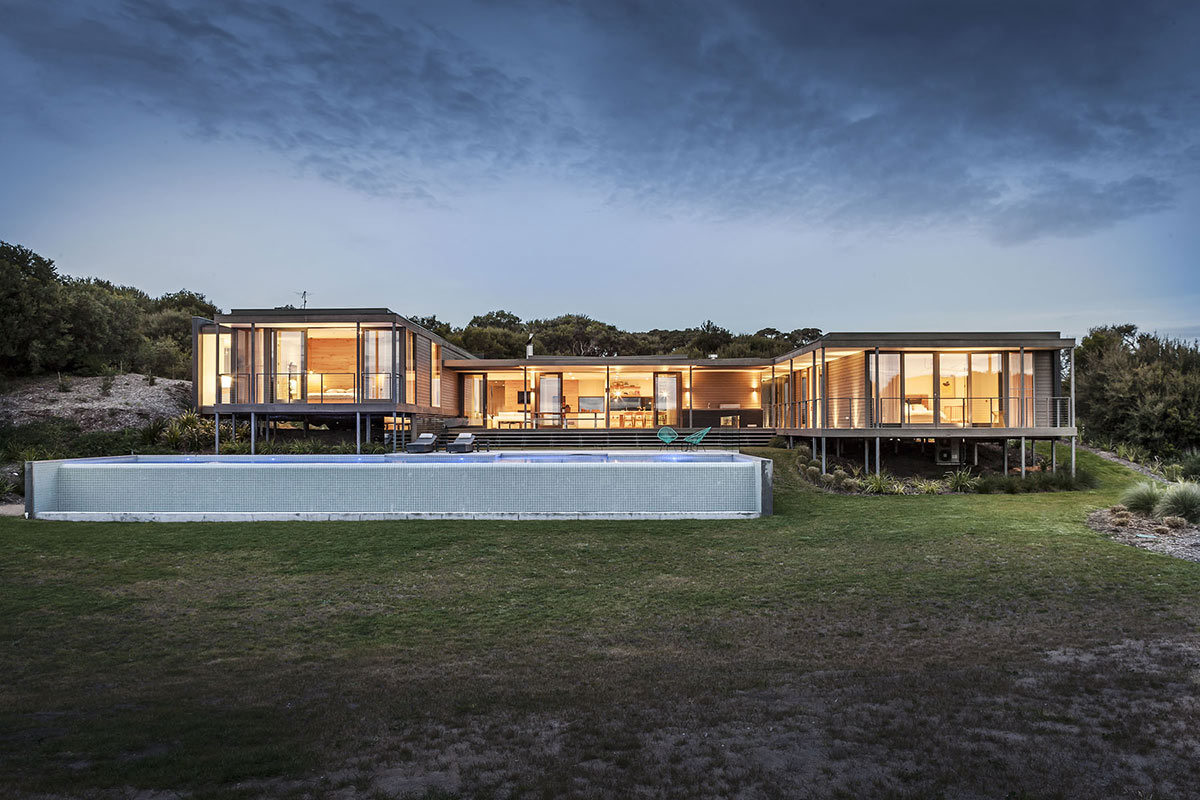 Foam road fingal residence by jam architecture for Australian architecture