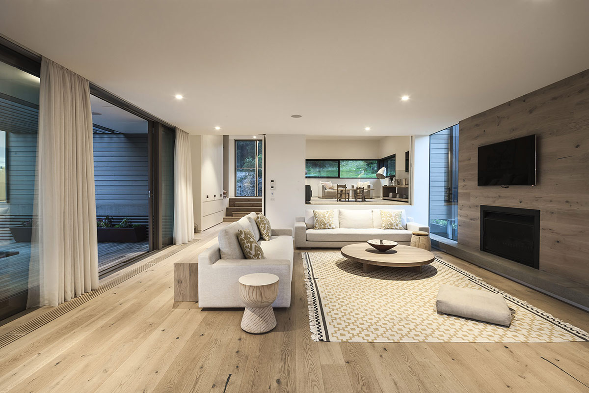 Living Space, Sofas, Foam Road Fingal Residence by Jam Architecture