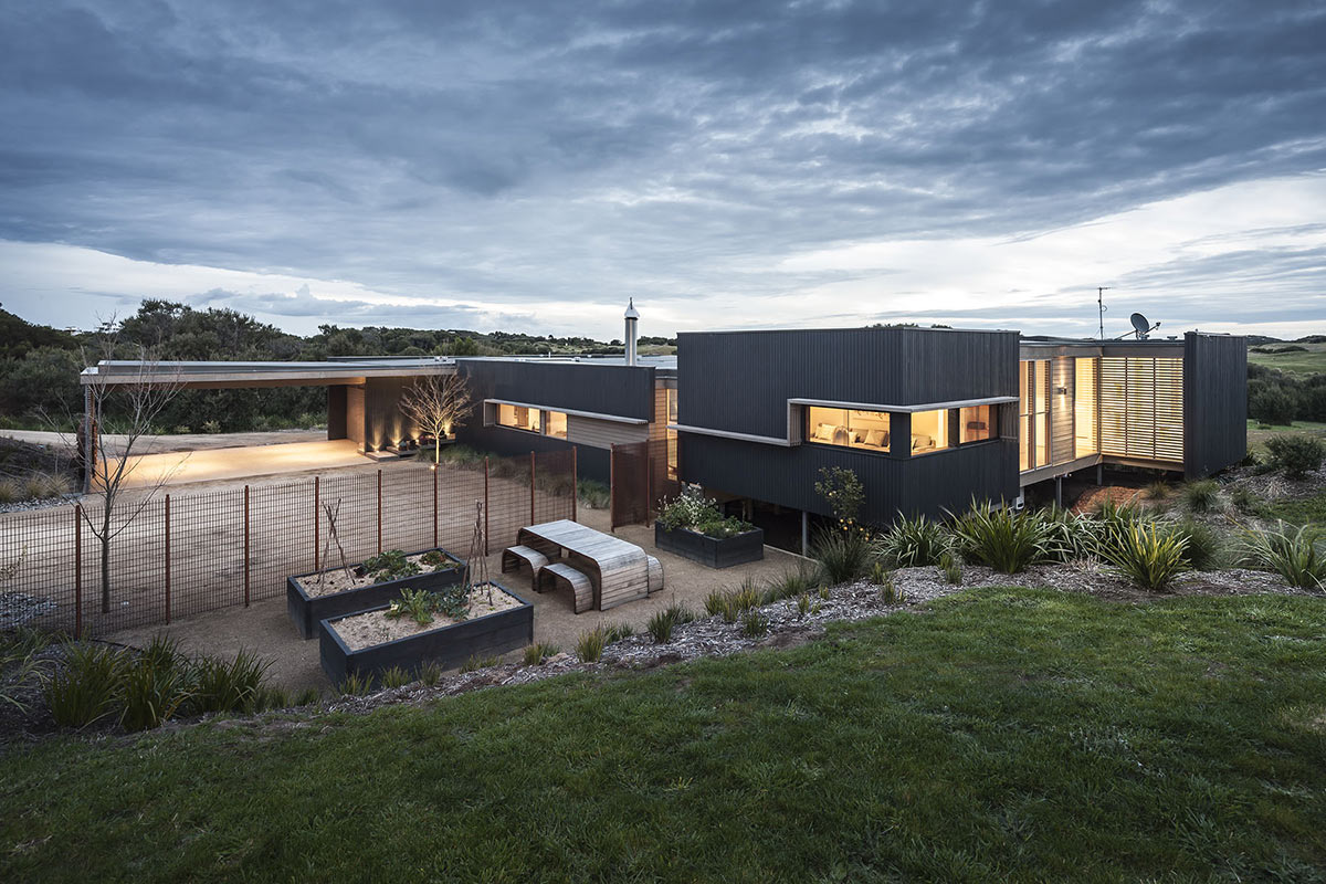 Outdoor Living, Garden, Foam Road Fingal Residence by Jam Architecture