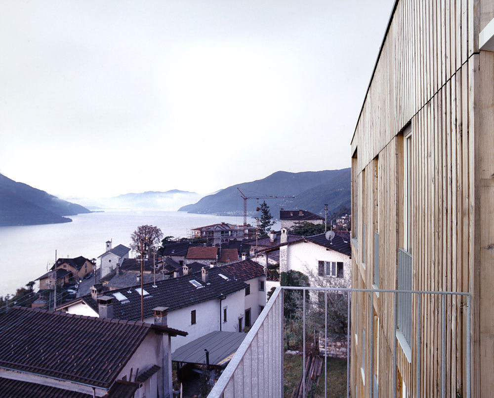 Balcony, Lake Views, Modern Home Overlooking Lake Maggiore, Switzerland