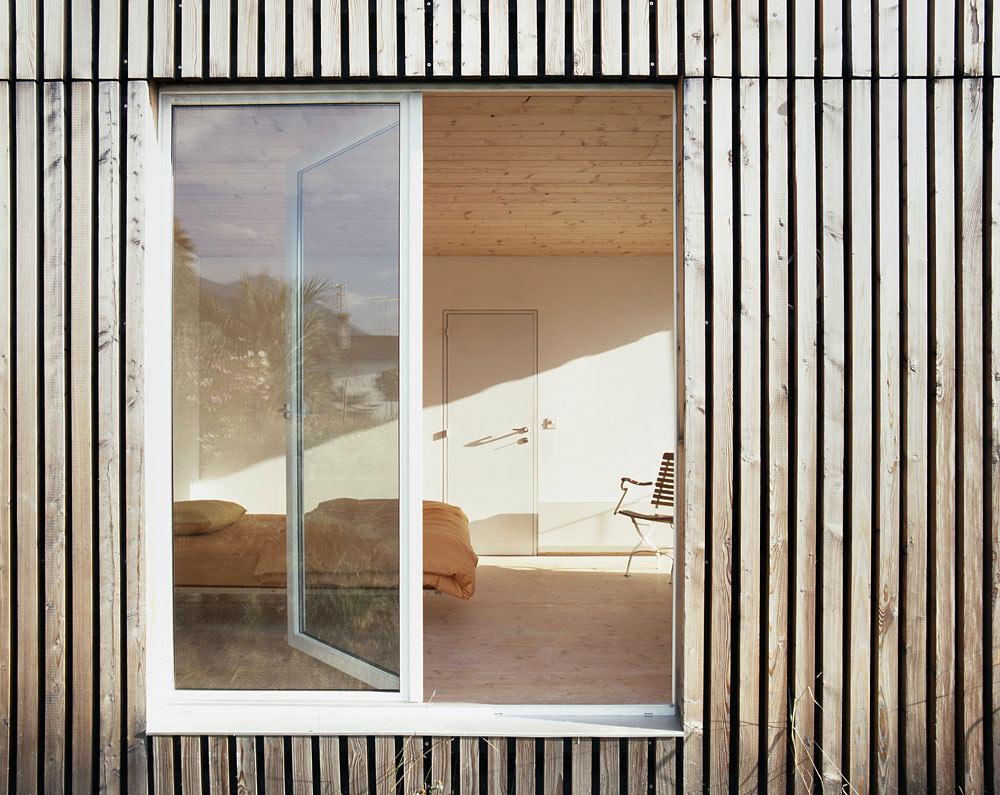Bedroom, Modern Home Overlooking Lake Maggiore, Switzerland