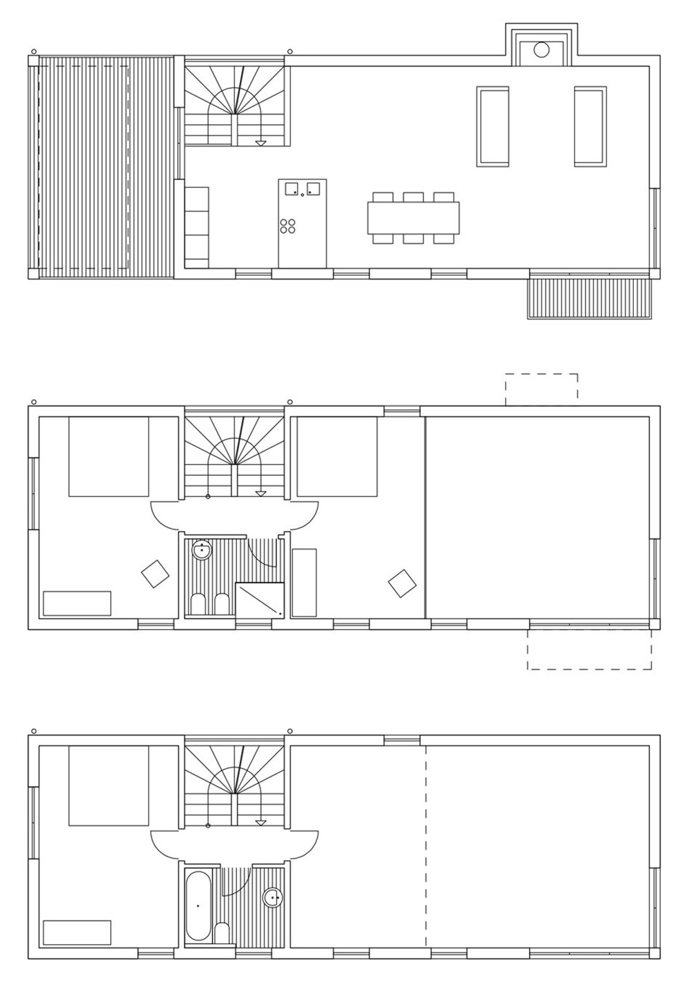 Floor Plan, Modern Home Overlooking Lake Maggiore, Switzerland
