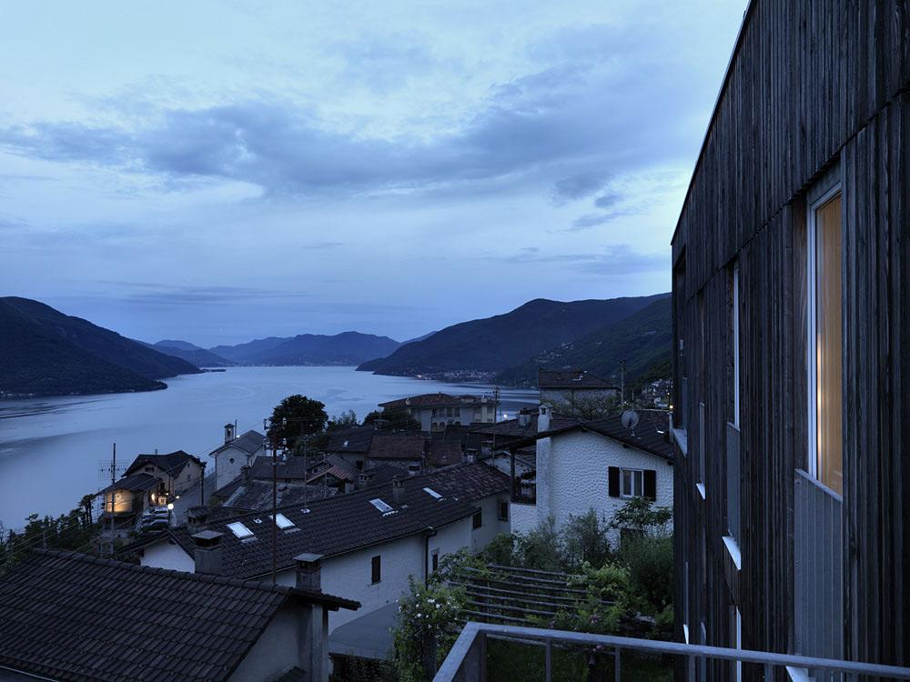 Lake Views, Modern Home Overlooking Lake Maggiore, Switzerland