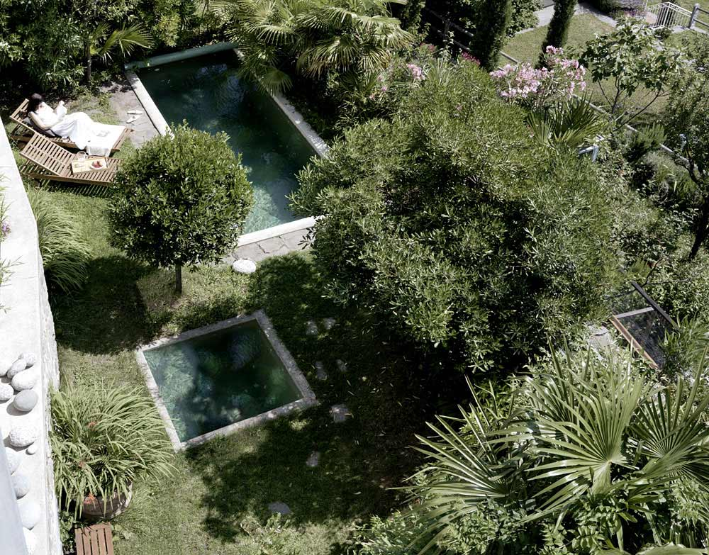 Swimming Pool, Jacuzzi, Modern Home Overlooking Lake Maggiore, Switzerland