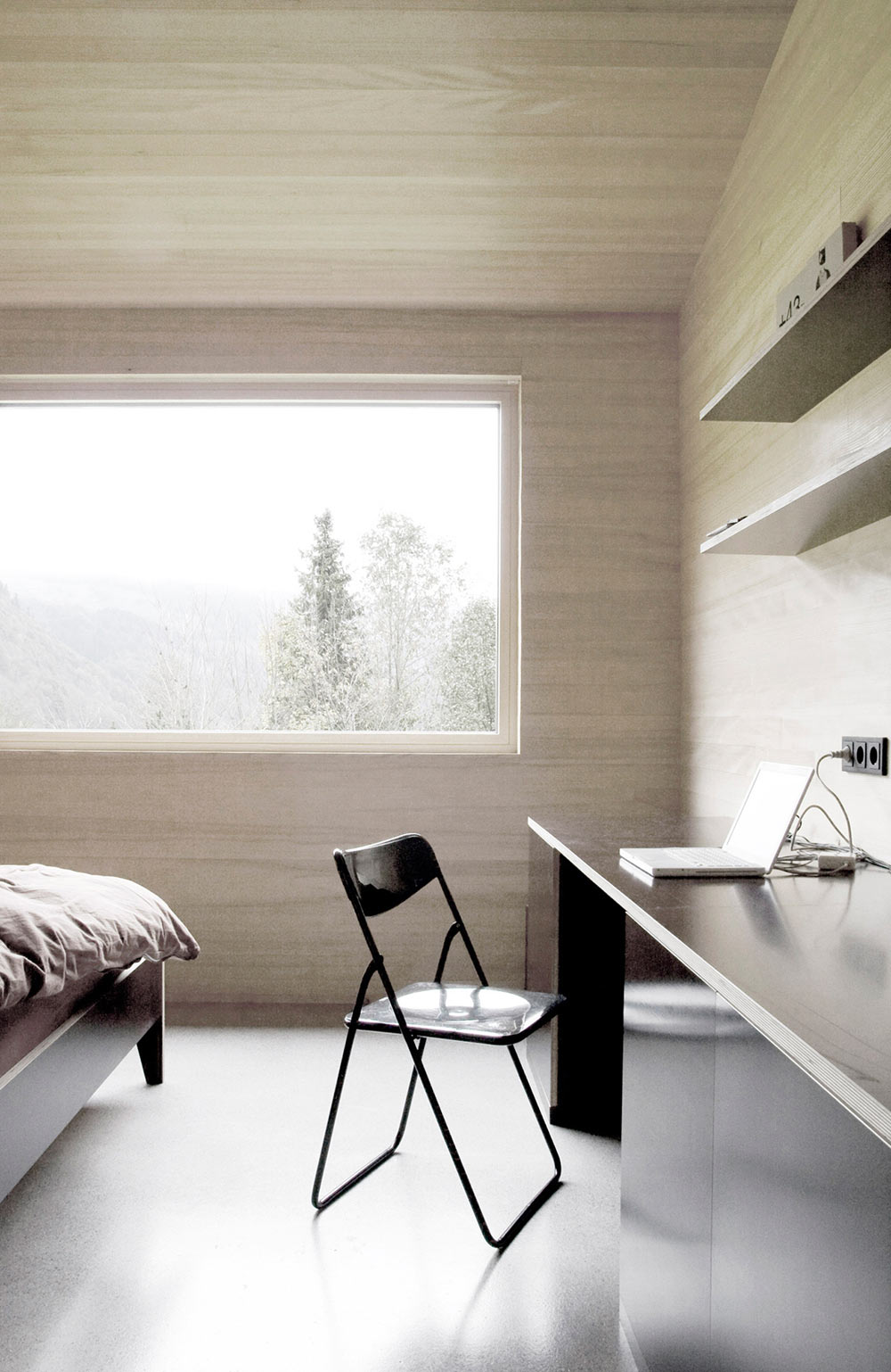 Bedroom, House for Gudrun in Mellau, Austria