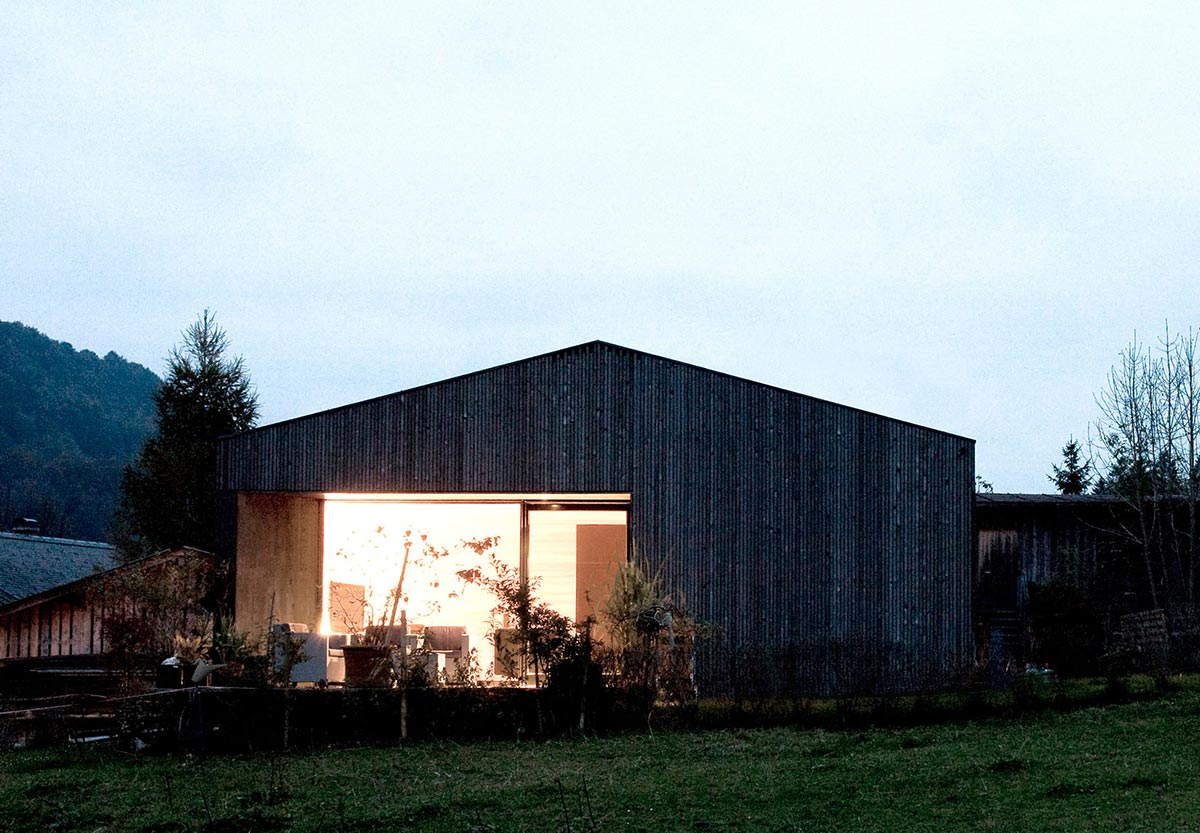 Lighting, House for Gudrun in Mellau, Austria