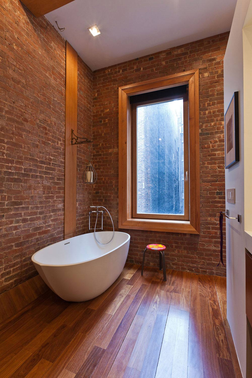 Bathroom, Loft in NOHO, New York City