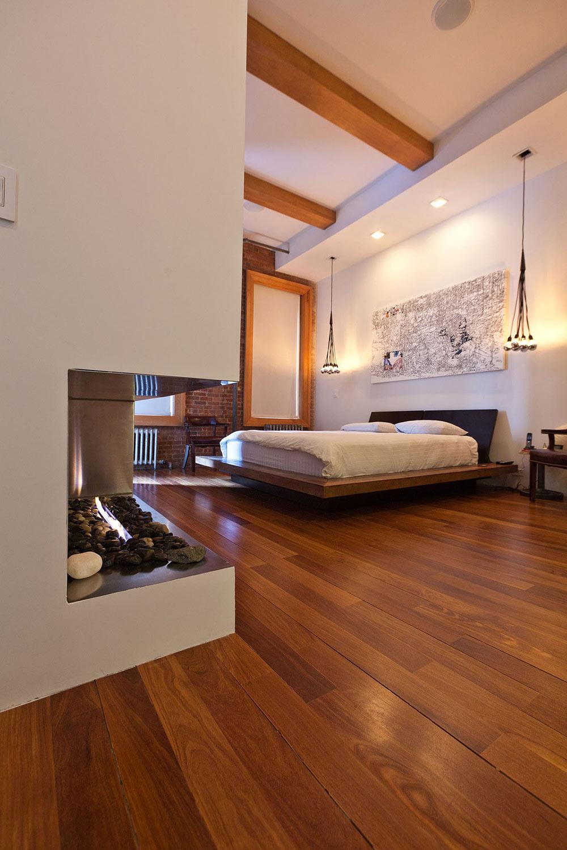 Bedroom, Loft in NOHO, New York City